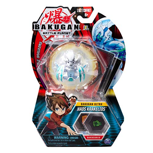 Bakugan Ultra, Haos Krakelios, 3-inch Tall Collectible Transforming Creature, for Ages 6 and Up
