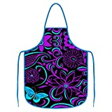 Apron Pattern Commercial Restaurant Home Kitchen Cooking Aprons for Men Women Chef