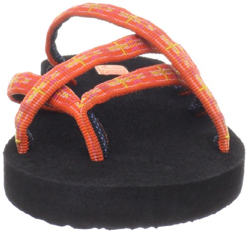 890 Teva Zehentrenner W's Damen Orange Sorbet Plaid Olowahu Orange HfHZq