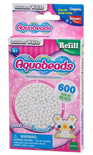 Aquabeads - 32638 - Recharge Perles - Blanc