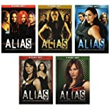 Alias - Seasons 1-5 (Complete Series) [DVD] Jennifer Garner; Victor Garber; book