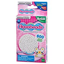 Aquabeads AB32638 Solid Beads Refill Pack, White