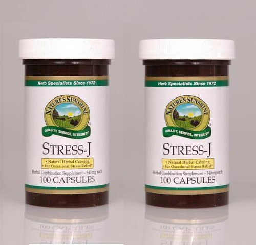 Cheap Nature's Sunshine Stress J 100 Capsules (Pack of 2)