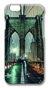 Brooklyn Bridge Custom For HTC One M7 Case Cover Polycarbonate 3D