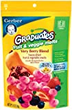 Gerber Graduates Fruit and Veggie, Melts Very Berry Blend, 1-Ounce Review