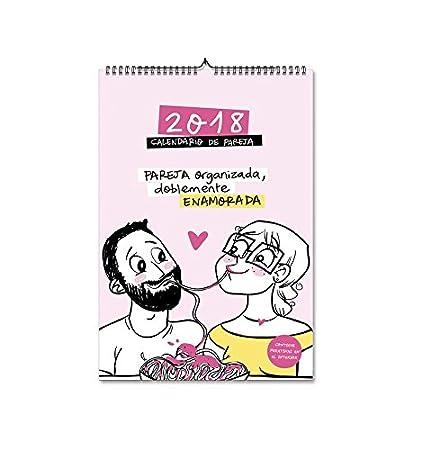 Pedrita Parker 435 - Calendario 2018 de pared para parejas ...