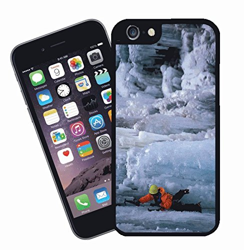Ice Rock Climbing - This cover will fit Apple model iPhone 7 (not 7 plus) - By Eclipse Gift Ideas