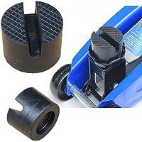 ICTRONIX 50 x 37 mm groef & wafel rubberen pad voor hefbrug, krik