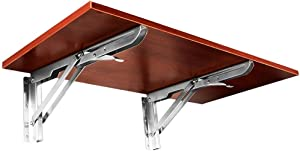 Folding Coffee Table, Wood Wall Mounted Table, Easy Folding Space Saving, Folding Tables for Small Spaces, Wall Mounted Drop Leaf Table (Size : 100cm×30cm)