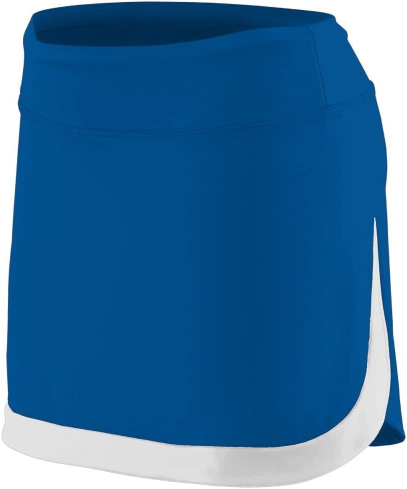 Augusta Sportswear Women'S Action Color Block Skort L Royal/White