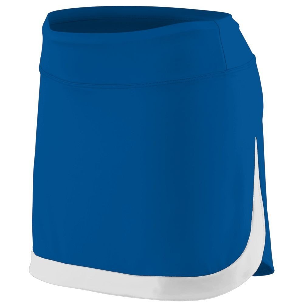 Augusta Sportswear Women'S Action Color Block Skort L Royal/White