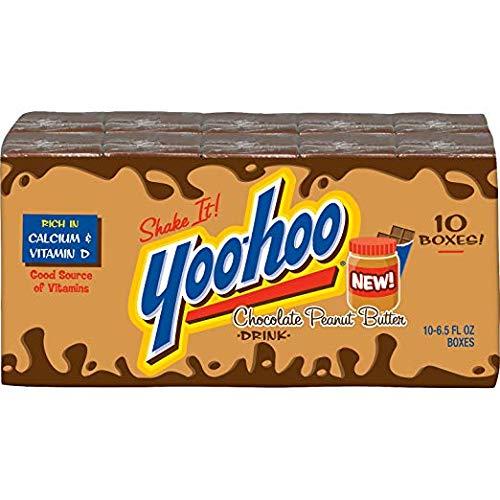 Yoo-Hoo Chocolate Peanut Butter Drinks, 10pk by Yoo Hoo