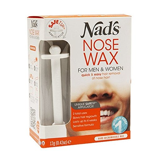 Nad's Nose Wax for Women and Men 0.42 oz (12 g)