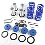 Adjustable Coil Over Sleeve Springs Lowering Scaled Suspension Kit for Honda 1990-2002 Accord & 1988-2000 Civic & 1993-1997 Civic del Sol & 1988-1991 CRX & 1992-2001 Prelude | 1990-2001 Acura Integra