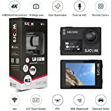 Orignal SJCAM SJ6 LEGEND Dual Screen 2″ LCD Touch Screen 2880×2160 Novatek NT96660 Panasonic MN34120PA CMOS 4K Ultra HD Sport DV Action Camera Black+extra 1 battery