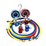 Kyпить TargetEvo R1234YF A/C Air Conditioning Refrigerant Manifold Gauge Set With High / Low Side Adapter на Amazon.com