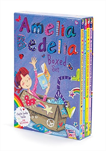 Gifts to get 9 year old girl Amelia Bedelia Chapter Book Box Set: Books 1-4