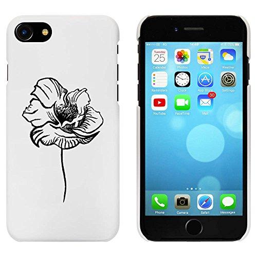 Blanc 'Coquelicot' étui / housse pour iPhone 7 (MC00063490)