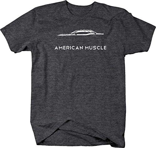 American Muscle Dodge Mopar Charger Challenger Car Hellcat Mens T Shirt - Med