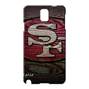 samsung note 3 Durability Scratch-free High Grade phone back shell san francisco 49ers nfl football