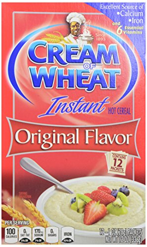 Cream of Wheat, Instant Original, 12 count, 12 Ounce