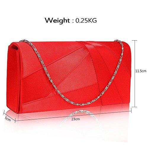 Handbag Luxury Purse New Designer look Design Women Satin Hard Wedding Case For Clutch Bag Party Ladies 1 Red Evening ZxqHzY