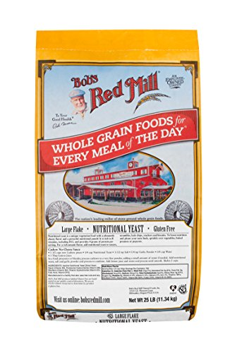 Bob's Red Mill Gluten Free Large Flake Nutritional Yeast, 25 Pound