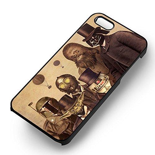 Chic In Suit Hero Retro Art pour Coque Iphone 7 Case (Noir Boîtier en plastique dur) G8S2RG