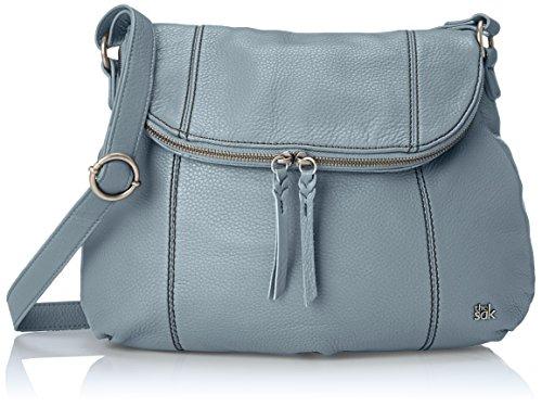 The Sak Deena Ii Hobo, Blue Mist (Blue Leather Handbags)