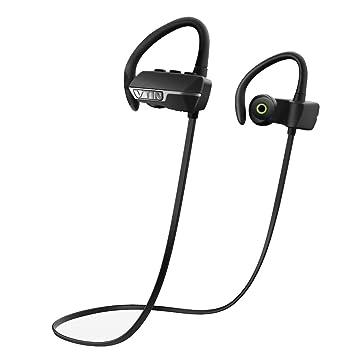Vtin Auriculares Bluetooth 4.1 con Sonido Estereo y con Mic Manos Libres para Correr, Deporte, Ejercicio para iPhone, Samsung, Sony, Huawei y XIAOMI etc: ...