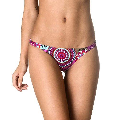Coqueta Sexy Teeny Mini Brazilian Bikini Thong Swimsuit Bottom Swimwear DIVA-LARGE