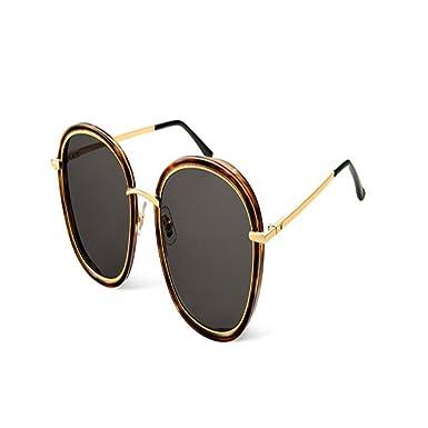 Shop 6 Lunettes de soleil Lunettes rondes pour hommes et femmes lunettes de  soleil à grand 288665b860a1