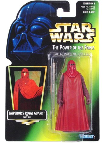 Star Wars Power of the Force Green Card Emperor's Royal Guard Action Figure 3.75 Inches (Guard Star Wars Royal)