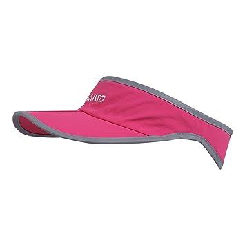 Foldable Visor Sun Hat - Outdoor Run Golf Hats with Adjustable Velcro -  Quick-drying 9a7e617e0073