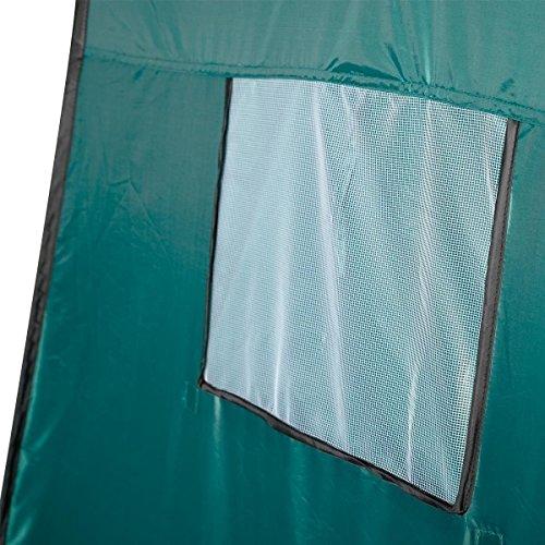 Generic O-8-O-0885-O m Green Tent Camping mping R Toilet Changing ing Ten Portable Pop UP Toilet Room Green shing B Fishing Bathing NV_1008000885-TYQFUS32 by Generic (Image #5)