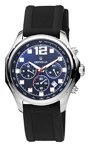 ORPHELIA La Grande Men's Black Plastic watch-OR86700