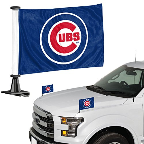 ProMark MLB Chicago Cubs Flag Set 2Piece Ambassador Stylechicago Cubs Flag Set 2Piece Ambassador Style, Team Color, One Size