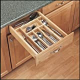 Rev-A-Shelf 4WCT-1 Classic Wood Cutlery Tray Insert, Natural