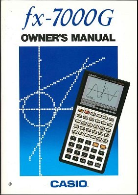 Casio Programmable Calculator (Fx-7000g Owner's Manual)