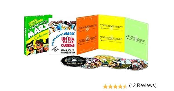Pack Hermanos Marx [DVD]: Amazon.es: Los Hermanos Marx, Groucho ...