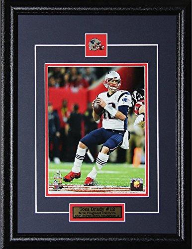 Tom Brady New England Patriots Superbowl LI Memorabilia NFL 16x20 Collectible Sports Frame 8x10 Photo