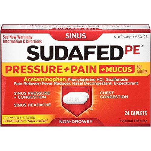 sudafed pe pressure + pain - 2