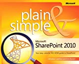 img - for Microsoft SharePoint 2010 Plain & Simple 1st edition by Beckett, Chris, Lightfoot, Johnathan (2011) Paperback book / textbook / text book