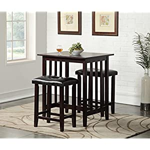 Roundhill-Furniture-3-Piece-Counter-Height-Dining-Set-with-Saddleback-Stools-Espresso