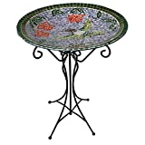 Gardener's Select A14BFG01A  Mosaic Glass Bath and Stand, Humming Bird Design Review