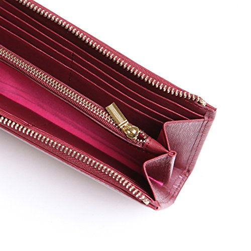 Arlington Milne Women's Small Wallet-Mulberry