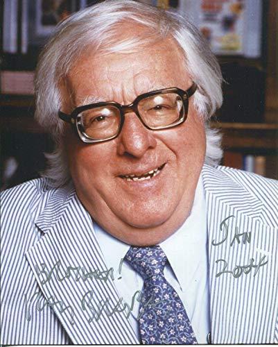 (Ray Bradbury Fahrenheit 451 Author Rare Signed Original Autograph Press Photo)