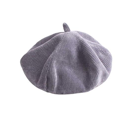 Hjd Beret Boina Sombreros for Vintage Madre de Invierno de la ...