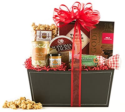 Wine.com Gourmet Greetings Gift Basket, 2.95 Pound
