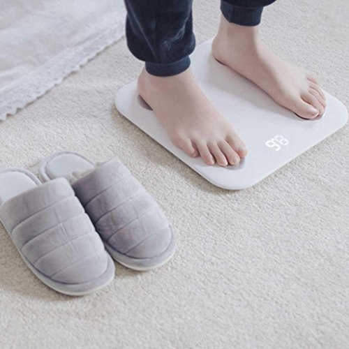 Body Fat Scales Precision Intelligent Mini Electronic Scales Home Health Body Scales Bathroom Scales by miaomiao (Image #3)
